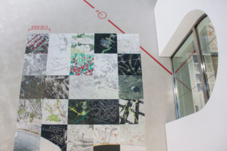 MAXXI-Roma-20-25-11-Exhibition-University-Architecture-Zone-Floor-signage-Sundial-Nord-Map-Project