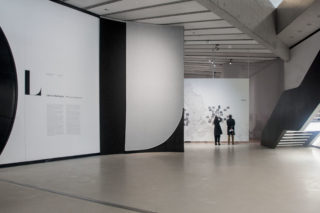 MAXXI-Letizia-Battaglia-02-Exhibition-Textile-Entrance-Intro-text-Map-Palermo