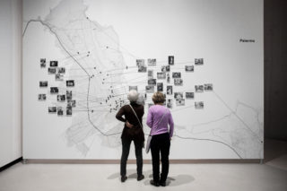 MAXXI-Letizia-Battaglia-03-Exhibition-Textile-Map-Palermo-Photography