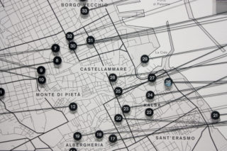 MAXXI-Letizia-Battaglia-05-Exhibition-Textile-Map-Palermo-Photography-Detail