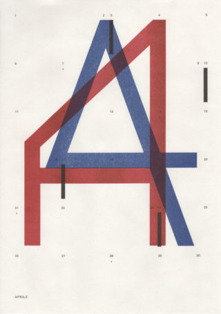 01-From-Outer-Space-Calendar-Cani-Sciolti-Risograph-Blue-Red-Black