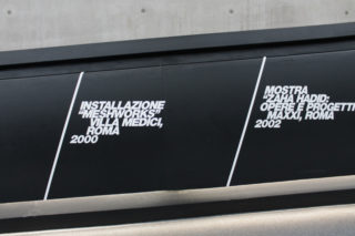 MAXXI-L'Italia-di-Zaha-Hadid-07-Exhibition-Timeline-Projects-Typography-Detail