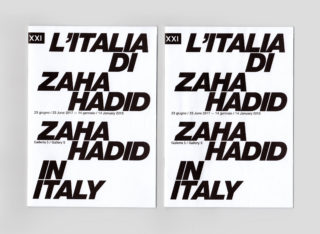 MAXXI-L'Italia-di-Zaha-Hadid-17-Exhibition-Leaflet-Title-Typography