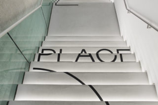 MAXXI-The-Place-to-Be-25-Exhibition-Collection-Stairs-Floor-signage-Wayfinding-Identity