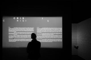 13-MAXXI-Gravity-Exhibition-Design-Section-Text-Typography-Light