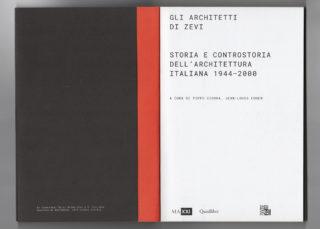 03-ESS-Gli-architetti-di-Zevi-Architecture-Book-design-Catalog-Frontispiece