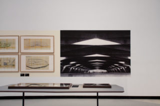 07-MAXXI-Gli-architetti-di-Zevi-Exhibition-Wall-Table-Photo