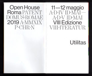 07-Open-House-Roma-2019-Architecture-Event-Guide-Spread-typography