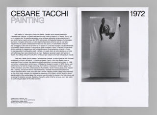 15-ESS-MAXXI-Elisabetta-Catalano-Exhibition-Photography-Brochure-Typography-Spread-Artist-Performance-Cesare-Tacchi